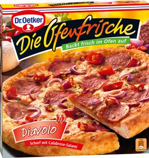 Dr. Oetker Die Ofenfrische Pizza oder Pizza Culinaria