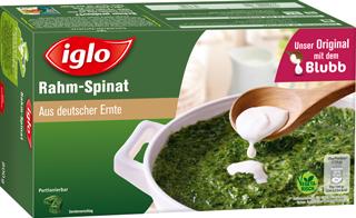 iglo Rahm-Spinat, Blatt-Spinat oder Würz-Spinat