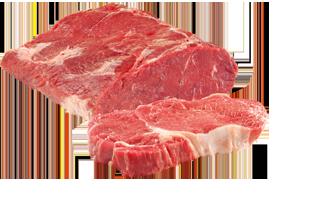 Roastbeef auch als Rumpsteak geschnitten